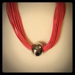 Jewelry - Coral multi strand necklace